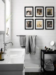 decoración con cuadros y fotografías con habitaciones