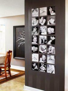 decoración con cuadros y fotografías con estilo
