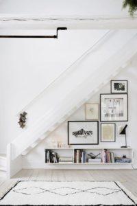 Consejos para aprovechar rincones difíciles bajo la escalera