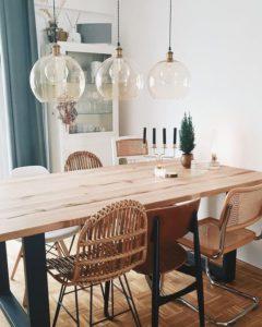 decoracion para mesas y sillas de comedor