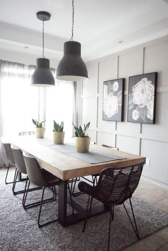 Ideas para decorar la mesa del comedor muebles r sticos - Decorar una mesa de comedor ...