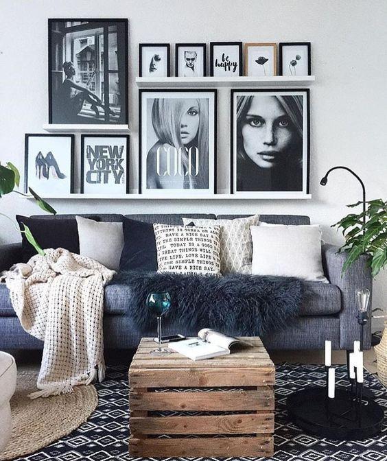 Cómo decorar con cuadros y fotografías con estilo