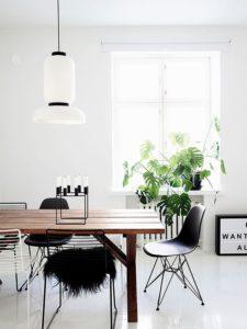 mesa de madera para decoracion