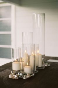 velas apra decorar la mesa del comedor