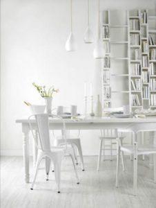Comedores de estilo minimalista blanco