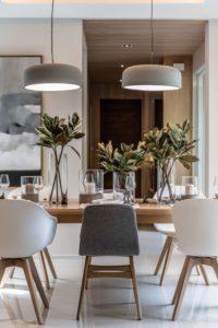 Comedores de estilo nórdico minimalista