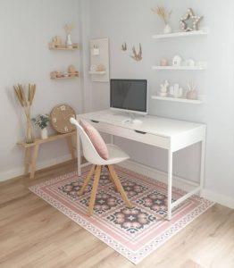 Ideas para decorar con alfombras estudio