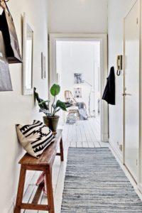 Ideas para decorar con alfombras recibidor