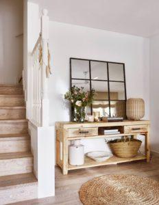 Ideas decorar con alfombras el recibidor
