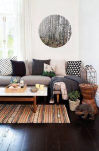 Ideas decorar con alfombras el salón
