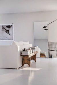 Cómo decorar con techos bajos muebles