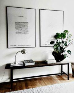 decorar con techos bajos muebles