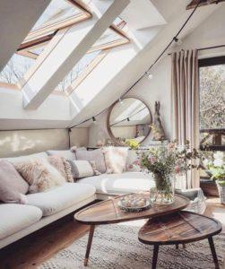 Cómo decorar con techos bajos luz