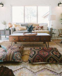 Cómo integrar asientos en el hogar cojines