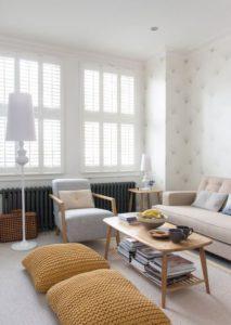 integrar asientos en el hogar cojines