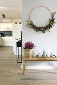 Ideas sencillas para decorar en Navidad coronas