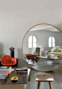 Cómo decorar con techos bajos espejos