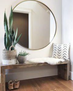 decorar con techos espejos