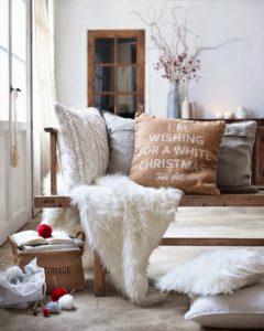 Ideas para decorar tu hogar en invierno materiales