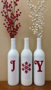 Ideas sencillas para decorar en Navidad rojo