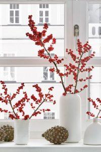 Ideas decorar en Navidad rojo