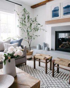 integrar asientos en el hogar taburetes