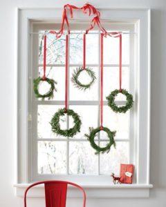 Ideas sencillas para decorar ventanas en Navidad