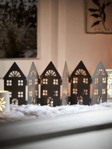 Ideas sencillas para decorar en Navidad ventanas