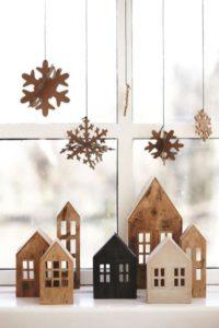 Ideas decorar Navidad ventanas