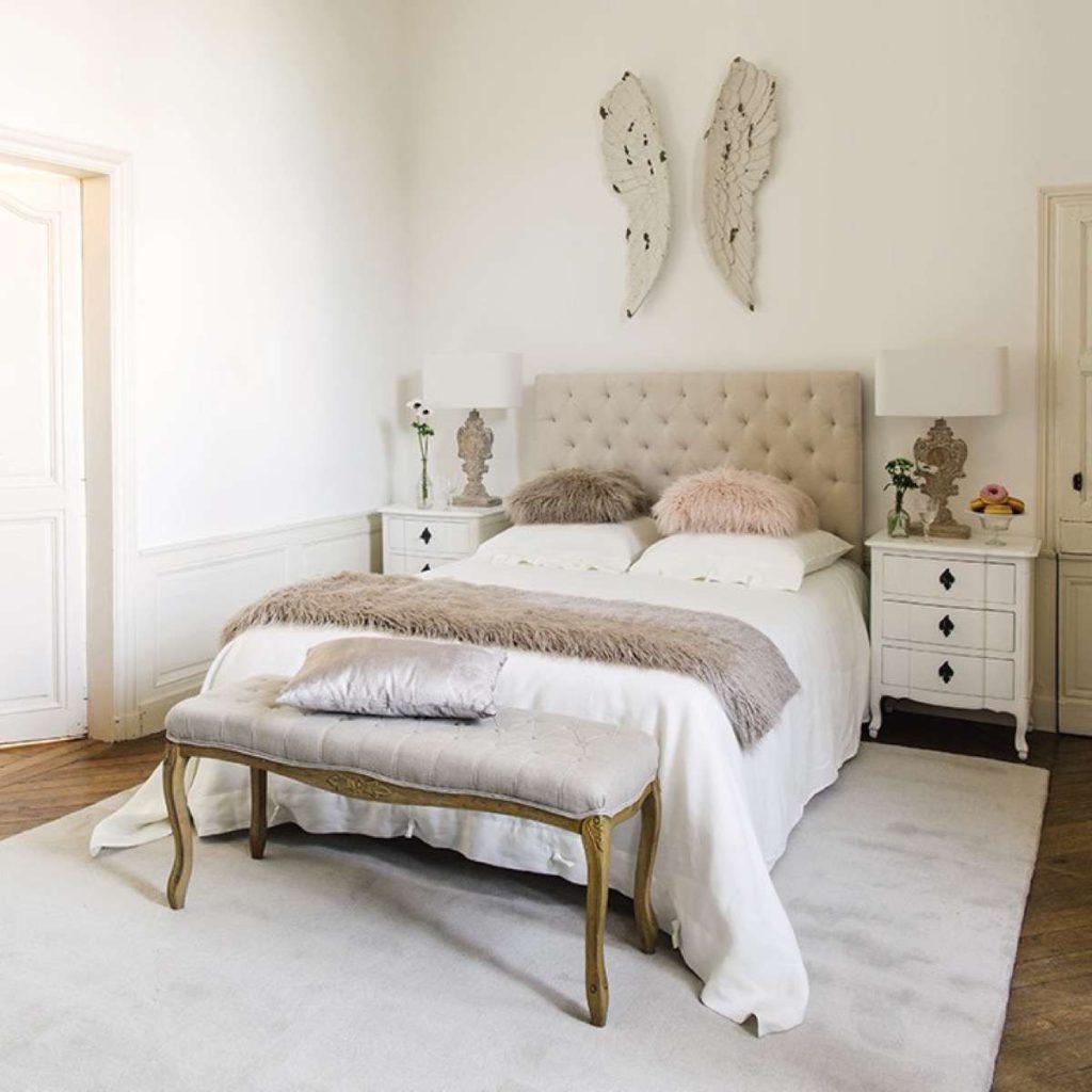 Blanco y beige, una combinación acogedora
