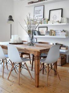 Mesas de comedor rústicas estilos decorativos acogedor