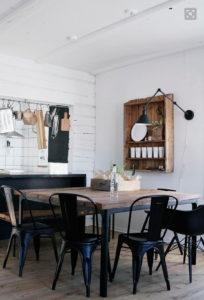 Mesas comedor rústicas estilo industrial