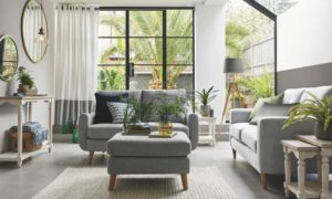 Ideas para amueblar salones pequeños sofás
