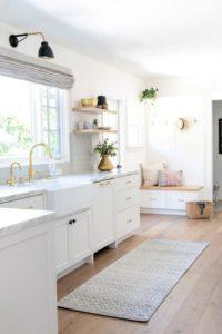 muebles claros unifican espacios