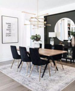 muebles oscuros atención