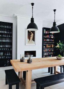 escoger muebles claros o muebles oscuros
