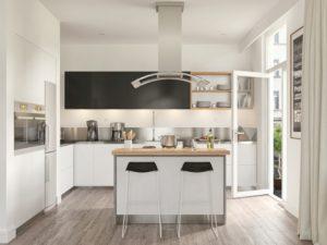 Aprovechar el espacio en la cocina encimera