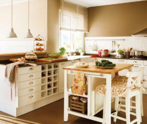 Ideas para aprovechar el espacio en la cocina encimera