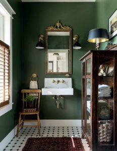 Inspiración decoración vintage baños