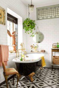 Inspiración vintage baños