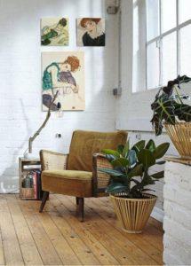 Inspiración vintage decoración terciopelo