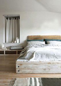 Tendencia estilo raw dormitorio